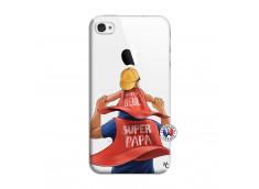 Coque iPhone 4/4S Super Papa et Super Bébé