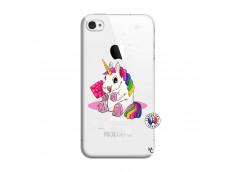 Coque iPhone 4/4S Sweet Baby Licorne