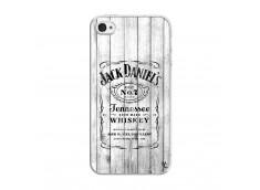 Coque iPhone 4/4S White Old Jack Translu