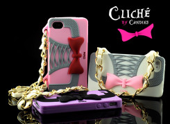 Coque iPhone 4/4S Cliché by Candies