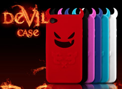 "Coque iPhone 4 ""Devil's Case"""