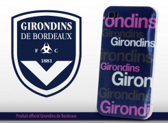 Coque Officielle iPhone 4/4S Girondins de Bordeaux