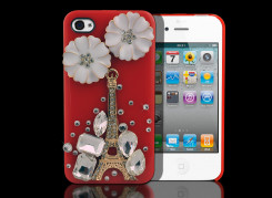 Coque iPhone 4/4S Paris On Flowers