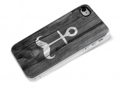 Coque iPhone 4/4S Moustache Anchor