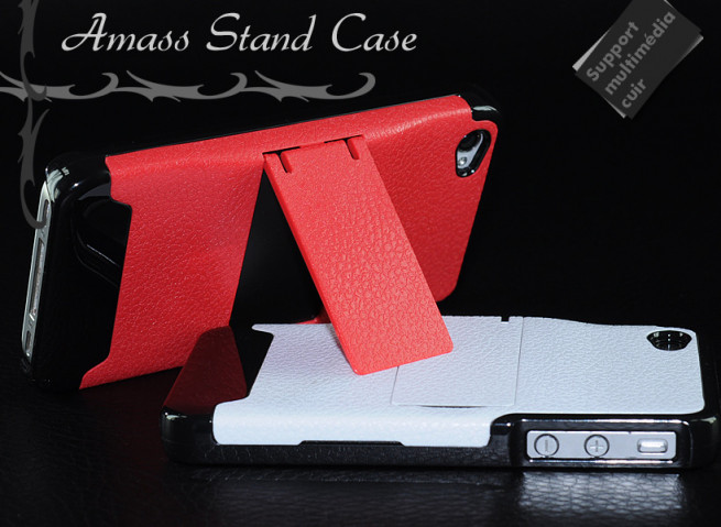 Coque Support TV iPhone 4/4S Amass stand case