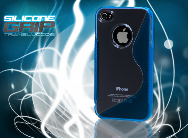 Coque iPhone 4/4S bleu