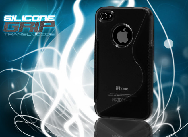 Coque iPhone 4/4S noir