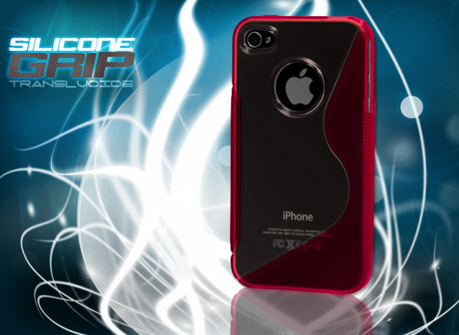 Coque iPhone 4/4S rouge
