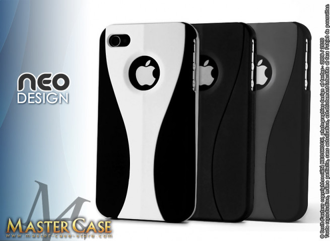 """Coque iPhone 4 """"Neo Design"""""""