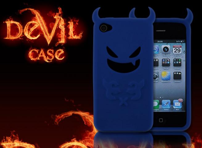 Coque iPhone 4s diable