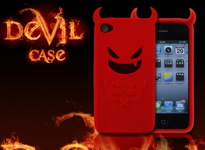 Coque iPhone 4 diable