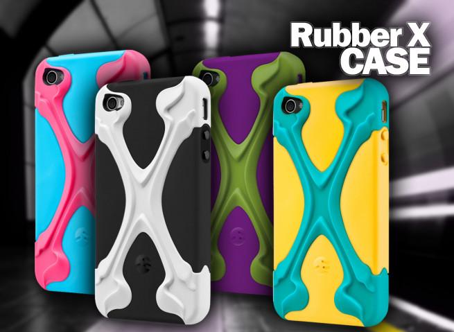 Coque iPhone 4/4S Rubber X Case