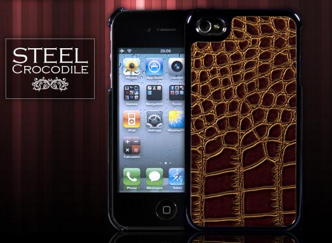 Coque iPhone 4 Croco