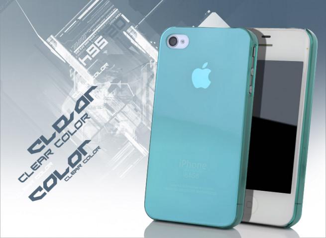 coque iphone 4s bleu ciel