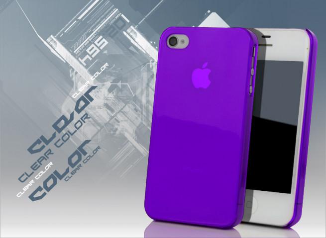 coque iphone 4s violet