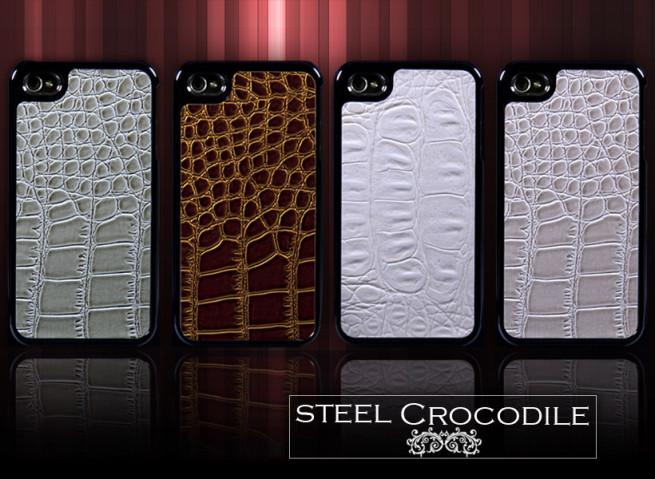 Coque iPhone 4/4S Steel Crocodile
