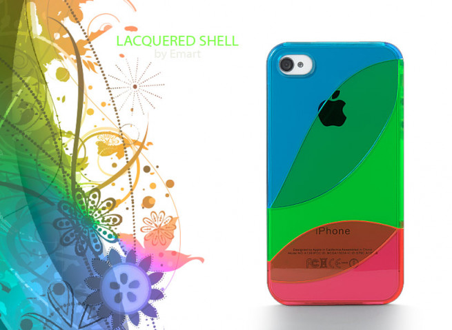 Coque iPhone 4/4S Lacquered Shell
