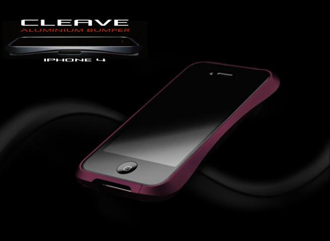 Bumper Alu iPhone 4/4S Cleave