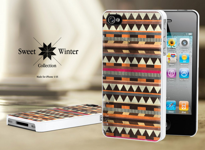 Coque Iphone 4G/4S Collection Sweet Winter M6