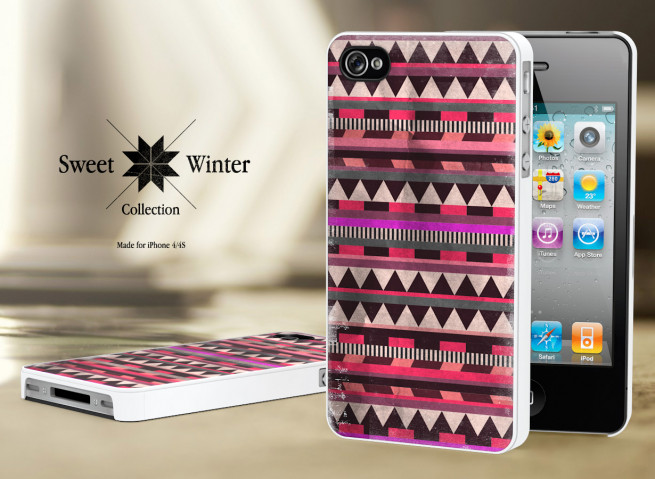 Coque Iphone 4G/4S Collection Sweet Winter M5