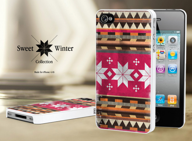 Coque Iphone 4G/4S Collection Sweet Winter M3