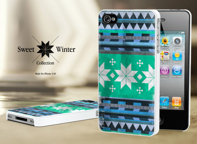 Coque Iphone 4G/4S Collection Sweet Winter M4