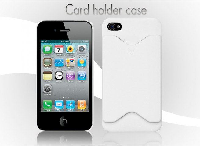 Coque iphone 4 blanc