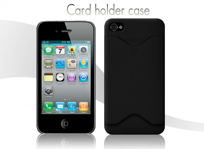 Coque iphone 4s noir