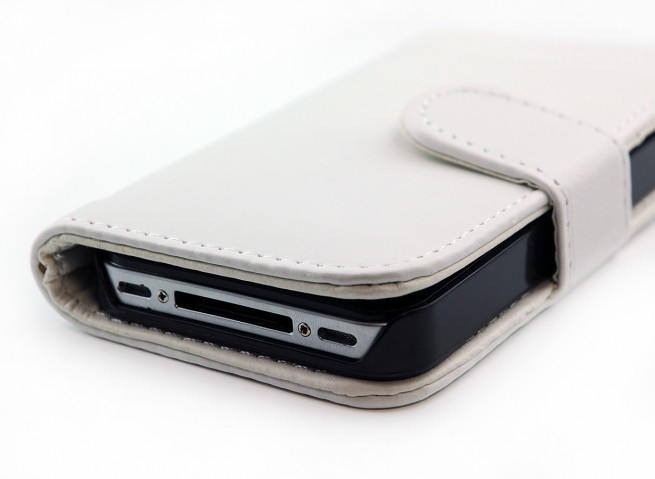 Etui iPhone 4/4S Wallet Porte Carte