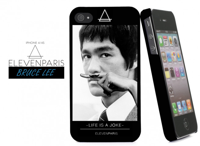 Coque iPhone 4/4S Eleven Paris - Bruce Lee