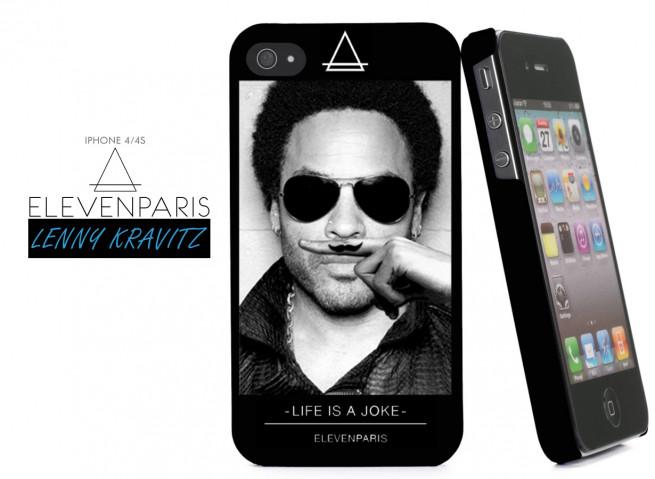 Coque iPhone 4/4S Eleven Paris - Lenny Kravitz