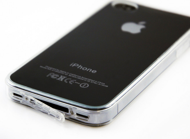 Coque iPhone 4/4S Invisible Flex