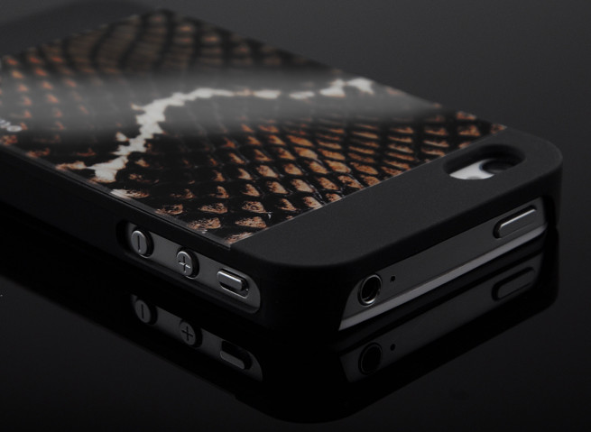 Coque iPhone 4/4S Motomo Safari - Snake