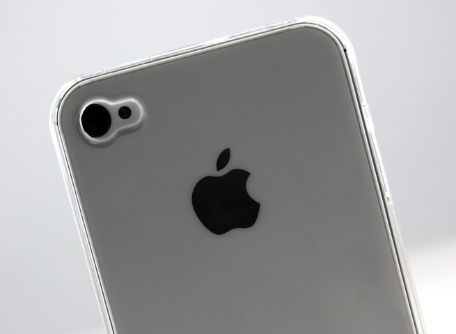 Soldes - Coque iPhone 4/4S iClear Color