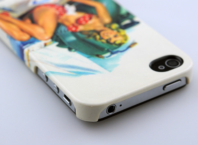 Coque iPhone 4/4S Pin-Up by Vespa
