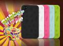 "Coque iPhone 4 ""Rubber Hippie"""