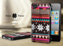 Coque Iphone 4G/4S Collection Sweet Winter Noirs M1