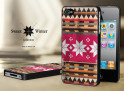 Coque Iphone 4G/4S Collection Sweet Winter Noirs M3