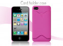 Coque iphone 4 rose fuschia