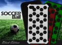 Coque iPhone 4/4S Soccer Ball Black Edition