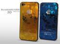 Sticker iPhone 4/4S +Film protecteur assorti Hearts