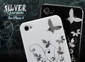 """Coque iPhone 4 """"Silver Garden"""" par Mastercase"""