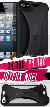 Coque iPod Touch 5 Ampjacket