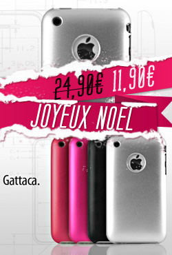 Coque iPhone 3G/S Gattaca