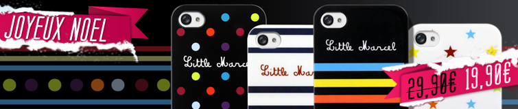 Coque iphone4-4s Litlle Marcel