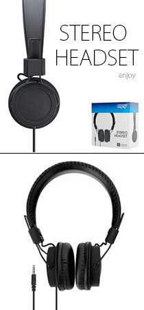 Casque pliable headset enjoy