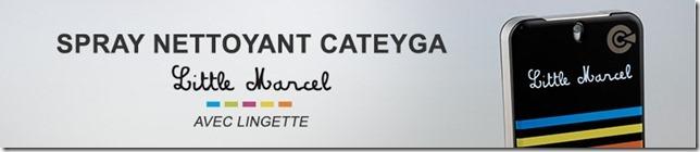 Spray nettoyant Cateyga avec lingette-Little Marcel